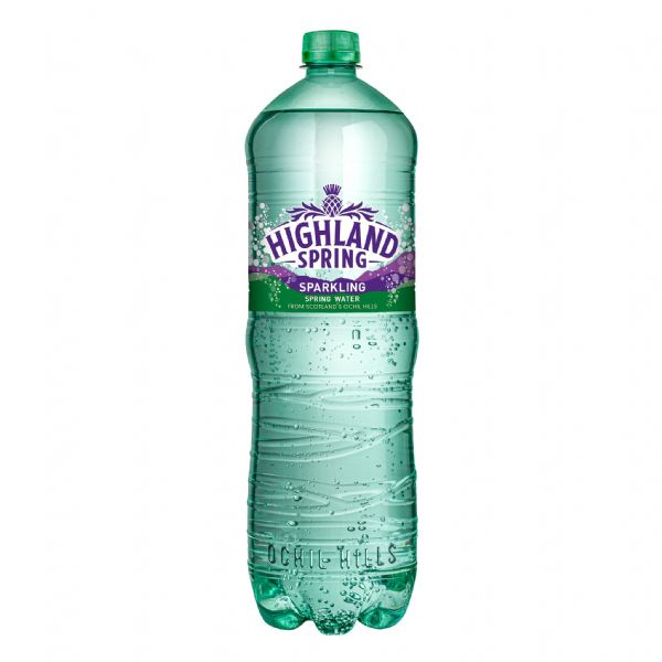 Highland Springs SPARKLING Water 12x1.5L